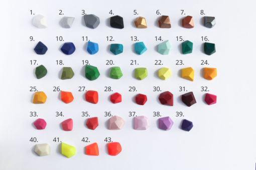 Clay color options